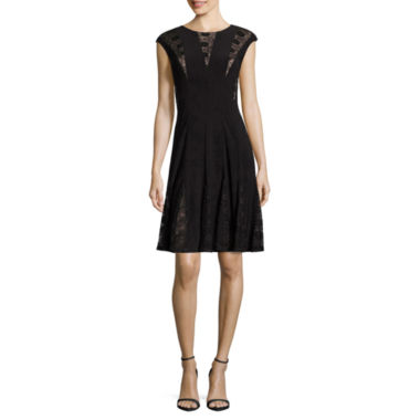 jcpenney.com | R & M Richards Sleeveless Fit & Flare Dress
