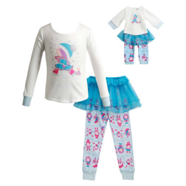 jcpenney.com | Dollie And Me Girls Kids Pajama Set-Big Kid 7-20