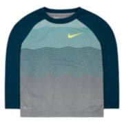 Nike® Dri-FIT Long-Sleeve Tee - Preschool Boys 4-7