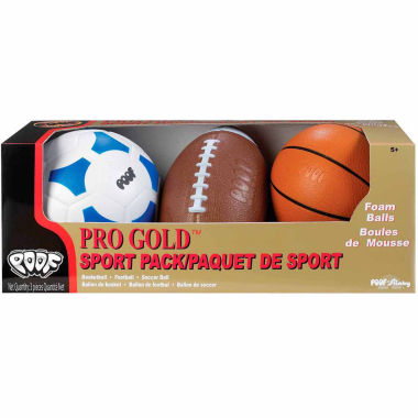 jcpenney.com | Poof Pro Gold Sport Pack 3-pc. Combo Game Set