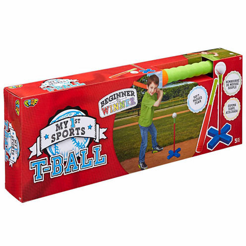 Poof My 1st Sports T-Ball Set 3-pc. Combo Game Set
