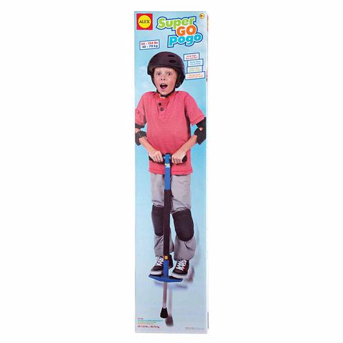 Alex Toys Active Play Super Go Pogo Stick Combo Game Set