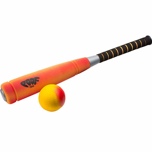 Poof Foam Home Run Bat & Ball Jr. 2-pc. Combo Game Set