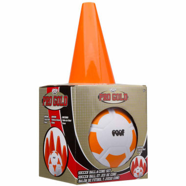 jcpenney.com | Poof Pro Gold Soccer Ball And Cone Set 5-pc. Combo Game Set