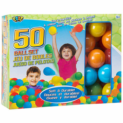 Poof 50 Ball Set 50-pc. Combo Game Set