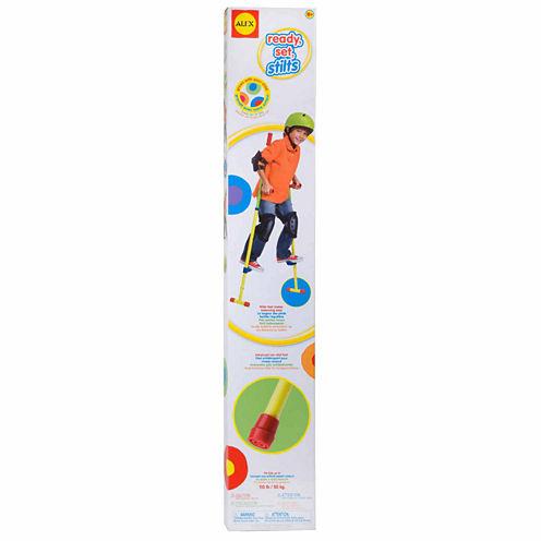Alex Toys Active Play Ready Set Stilts 13-pc. Combo Game Set