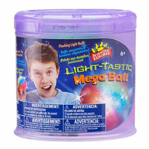 Scientific Explorer Light Tastic Megaball 6-pc. Discovery Toy