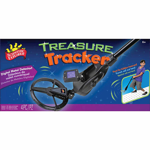 Scientific Explorer Treasure Tracker 4-pc. Discovery Toy
