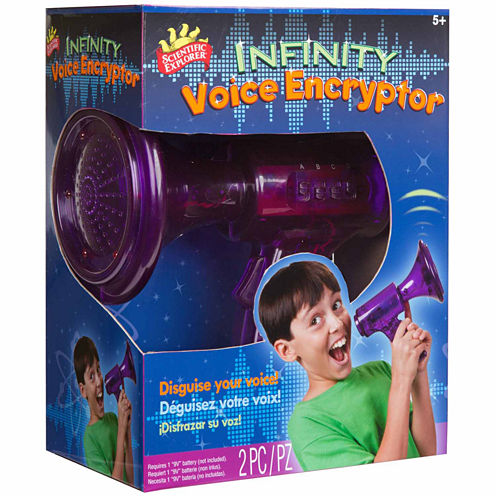 Scientific Explorer Infinity Voice Encryptor 2-pc. Discovery Toy