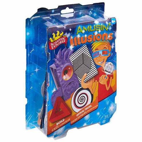 Scientific Explorer Amusin Illusions 15-pc. Discovery Toy