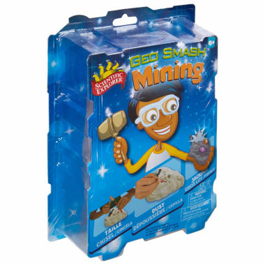 jcpenney.com | Scientific Explorer Geo Smash Mining 4-pc. Discovery Toy