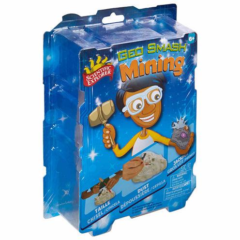 Scientific Explorer Geo Smash Mining 4-pc. Discovery Toy