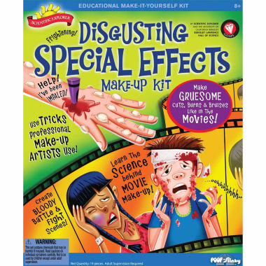 jcpenney.com | Scientific Explorer Disgusting Special Effects Makeup Kit 18-pc. Discovery Toy