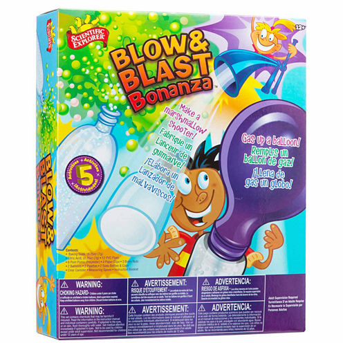 Scientific Explorer Blow & Blast Bonanza Discovery Toy