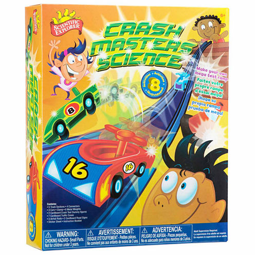 Scientific Explorer Crash Master Science 36-pc. Discovery Toy