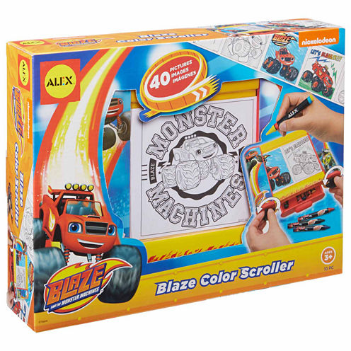 Alex Toys Blaze Color Scroller 50-pc. Discovery Toy