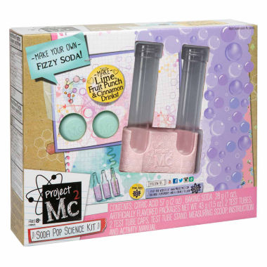 jcpenney.com | Scientific Explorer Project Mc2 Soda Pop Science Kit 8-pc. Discovery Toy
