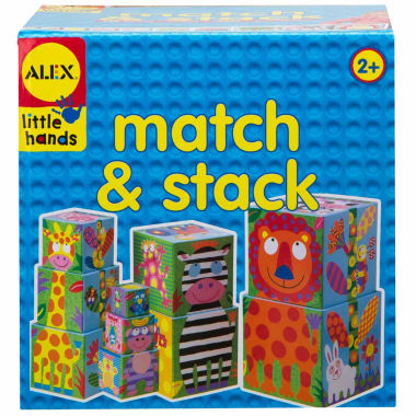 jcpenney.com | Alex Toys Little Hands Match And Stack 10-pc. Interactive Toy