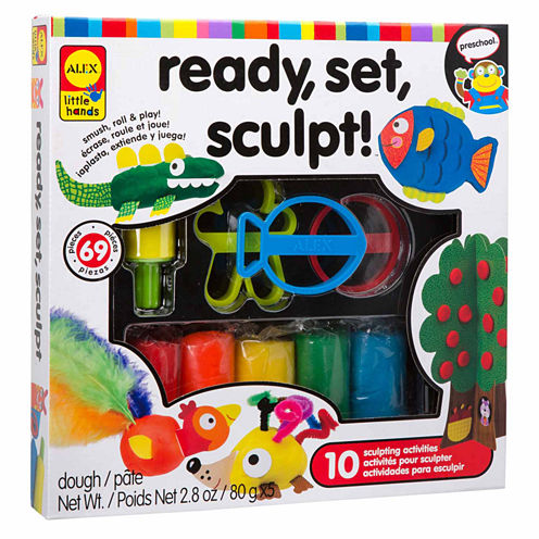 Alex Toys Little Hands Ready Set Sculpt 12-pc. Interactive Toy