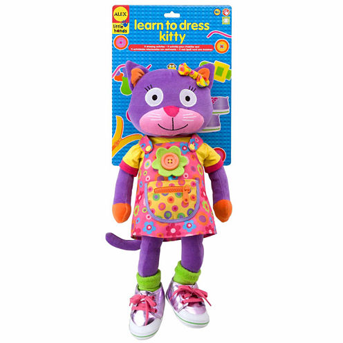 Alex Toys Little Hands Learn To Dress Kitty Discovery Toy