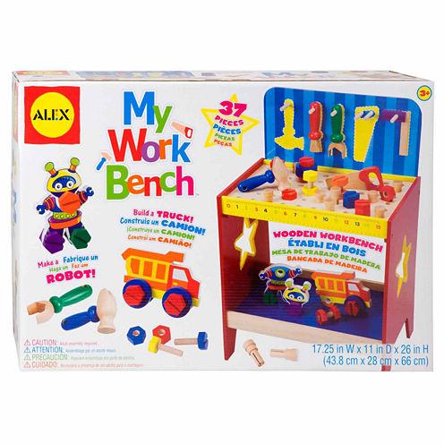 Alex Toys My Work Bench 14-pc. Toy Workbench