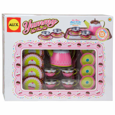 jcpenney.com | Alex Toys Yummy Tin Tea Set 15-pc. Play Food