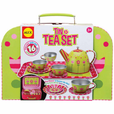 jcpenney.com | Alex Toys Tin Tea Set 16-pc. Play Food