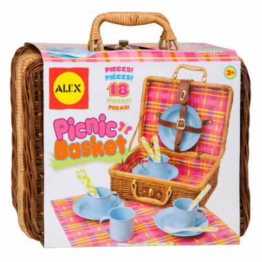 jcpenney.com | Alex Toys Picnic Basket 18-pc. Play Food