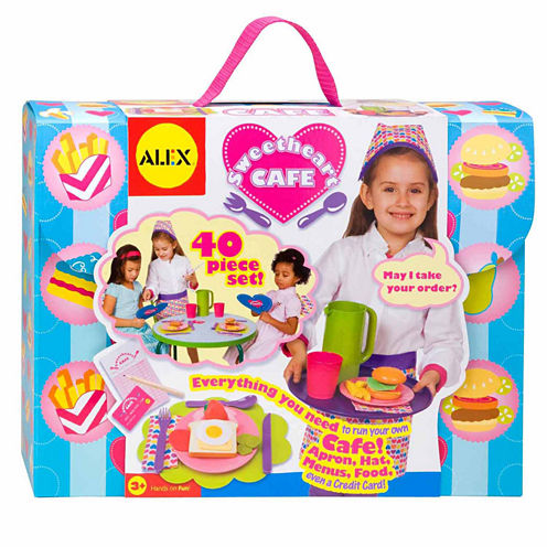 Alex Toys Sweetheart Cafe 40-pc. Play Food