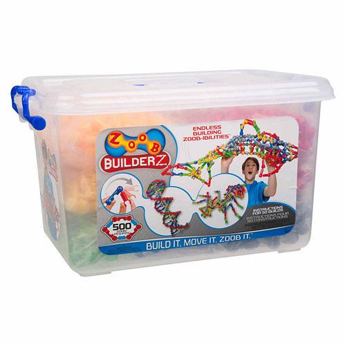 Zoob 500 Piece Builderz Interactive Toy
