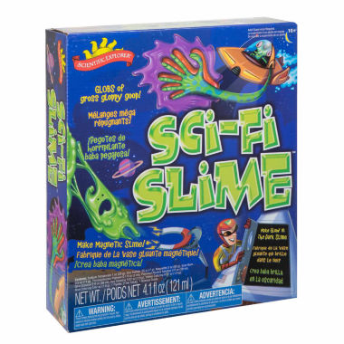 jcpenney.com | Scientific Explorer Sci-Fi Slime Science Kit 13-pc. Discovery Toy