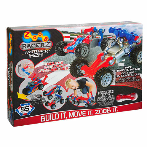 Zoob Fastback H2h 45-pc. Interactive Toy