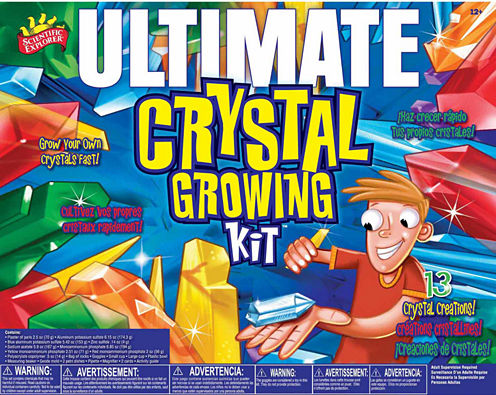 Scientific Explorer Ultimate Crystal Growing Kit 22-pc. Discovery Toy