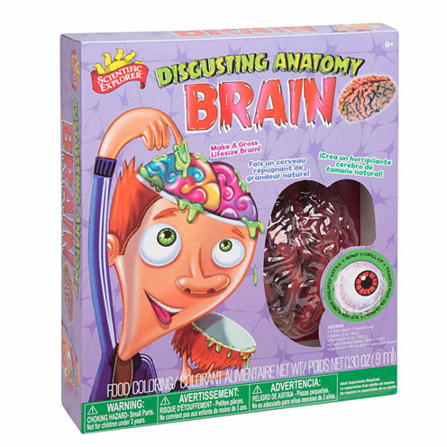 Scientific Explorer Disgusting Anatomy Of Brain Science 9-pc. Discovery Toy