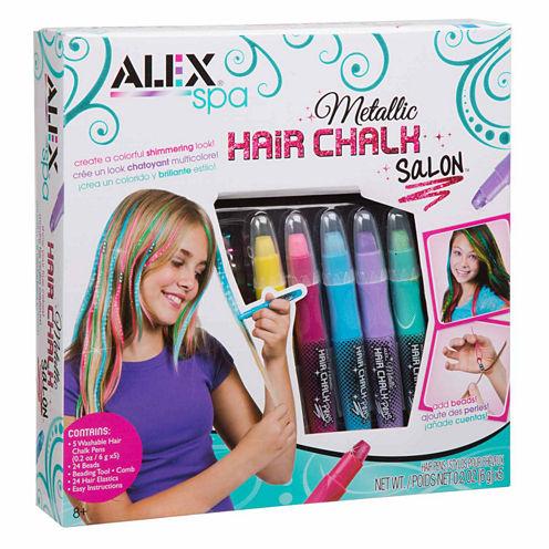 Alex Toys Spa Metallic Hair Chalk Salon Beauty Toy