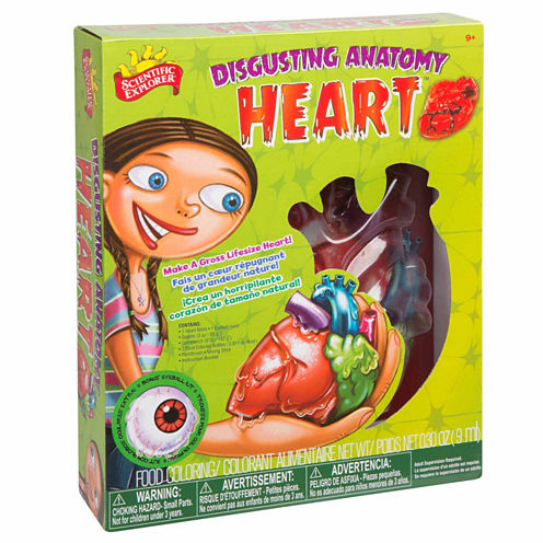 Scientific Explorer Disgusting Anatomy Of The Heart Science 9-pc. Discovery Toy