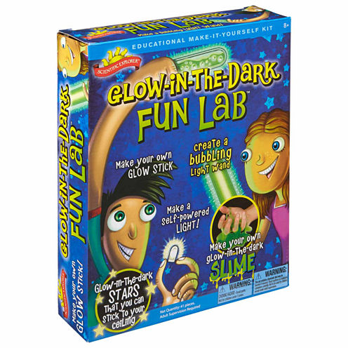 Scientific Explorer Glow In The Dark Fun Lab Discovery Toy