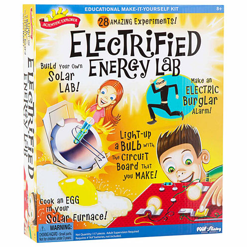 Scientific Explorer Electrified Energy Lab Discovery Toy