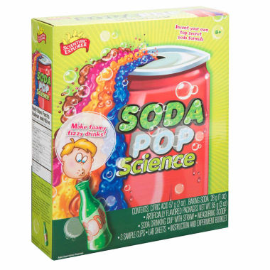 jcpenney.com | Scientific Explorer Soda Pop Science 12-pc. Discovery Toy