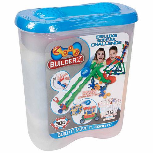 Zoob Builderz Deluxe S.T.E.M. Challenge Interactive Toy