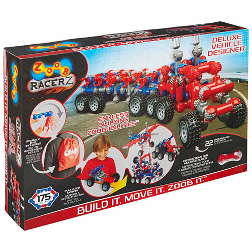 Zoob Racerz Deluxe Vehicle Designer Interactive Toy