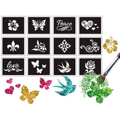 Alex Toys Spa Fun Sparkle Tattoo Parlor Peace And Love 20-pc. Beauty Toy