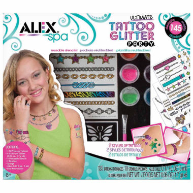 jcpenney.com | Alex Toys Spa Ultimate Glitter Tattoo Party Beauty Toy