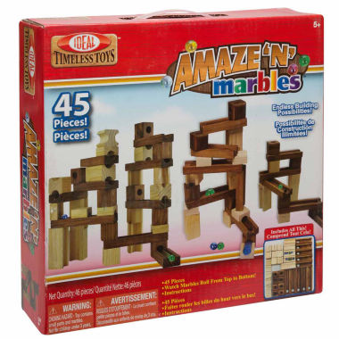 jcpenney.com | Ideal Amaze 'N' Marbles 45 Piece Classic Wood 45-pc. Interactive Toy