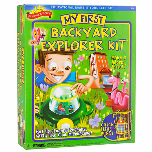 Scientific Explorer My First Backyard Explorer Kit 15-pc. Discovery Toy