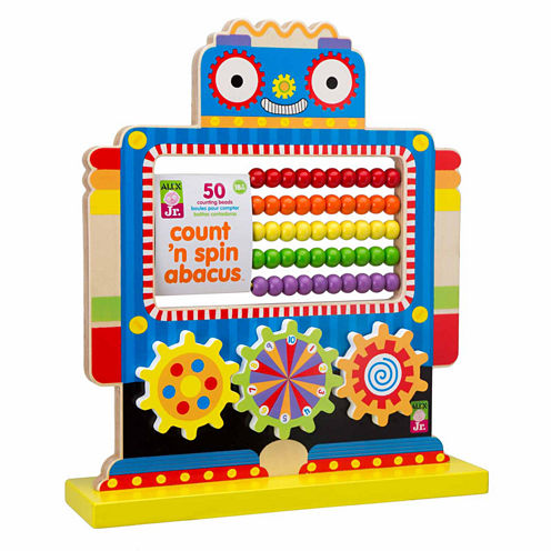 Alex Toys Alex Jr Count N Spin Abacus Robot Interactive Toy