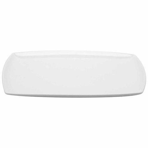 Red Vanilla Rectangular Serving Platter
