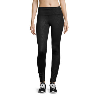 jcpenney.com | Xersion™ Embossed Leggings
