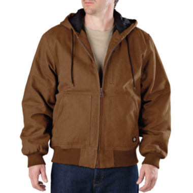jcpenney.com | Dickies® Heavy-Duty Sanded Duck Hooded Jacket–Big & Tall