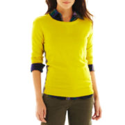 jcp™ Crewneck Sweater - Talls